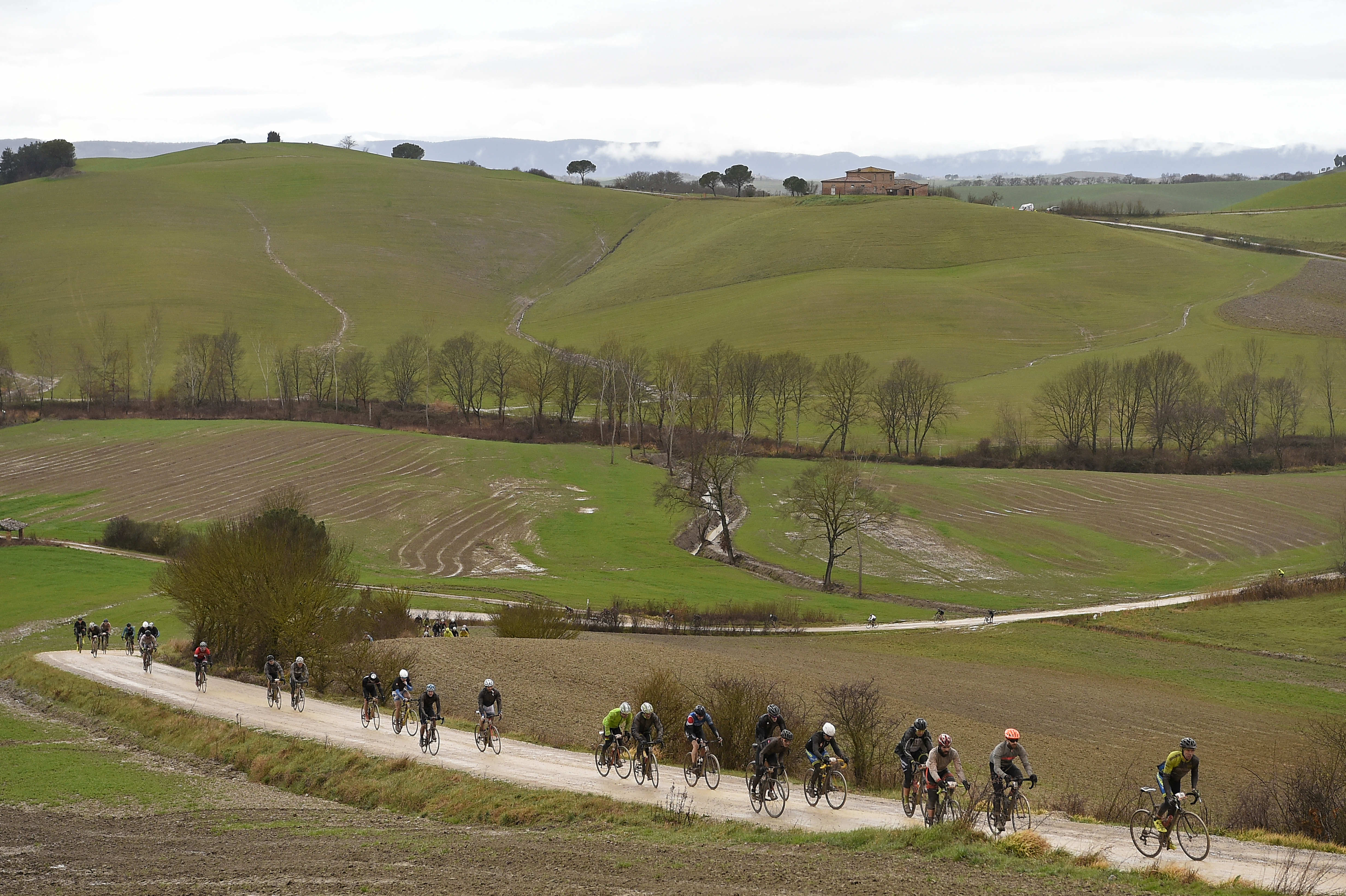An exceptional landscape for the Gran Fondo Strade Bianche