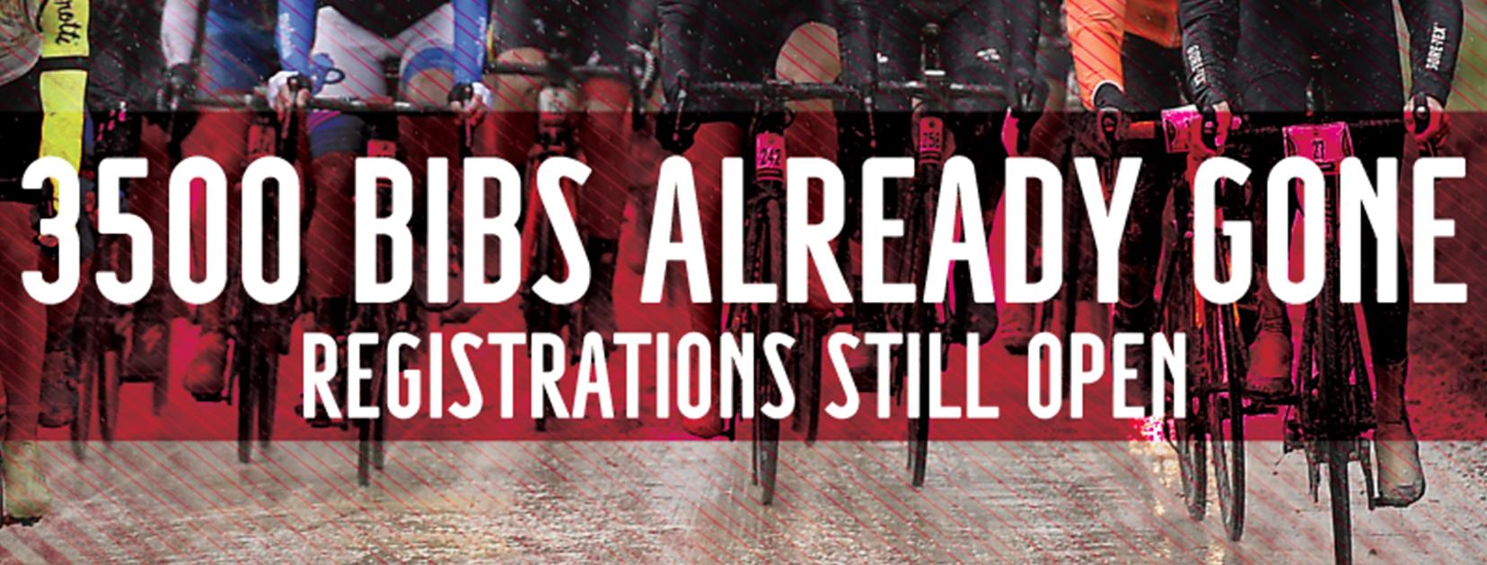 Already 3.500 bibs gone for the Gran Fondo Strade Bianche 2019!