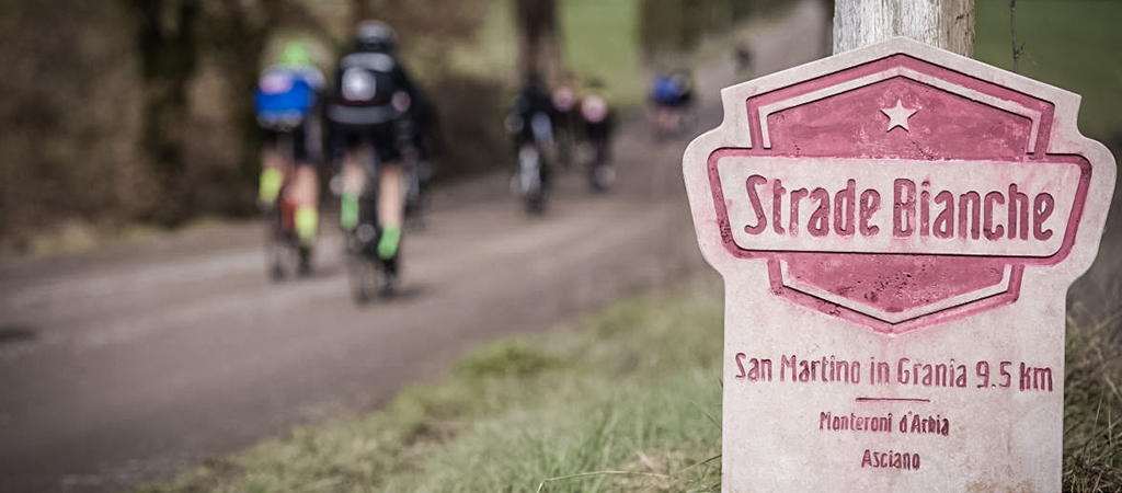 Rent your bike for the Gran Fondo Strade Bianche, withdraw it at the Expo Village and ride into the legend!