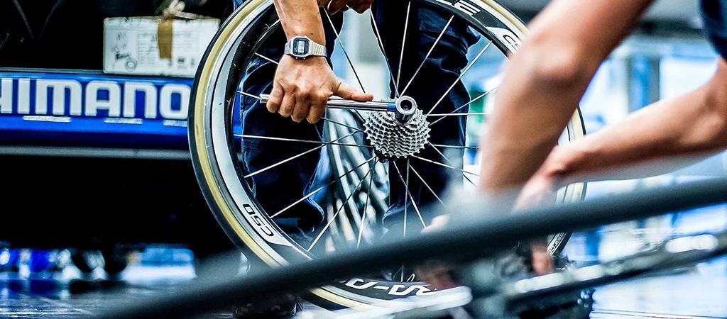 Bike-check con Shimano alla Gran Fondo Strade Bianche 2019