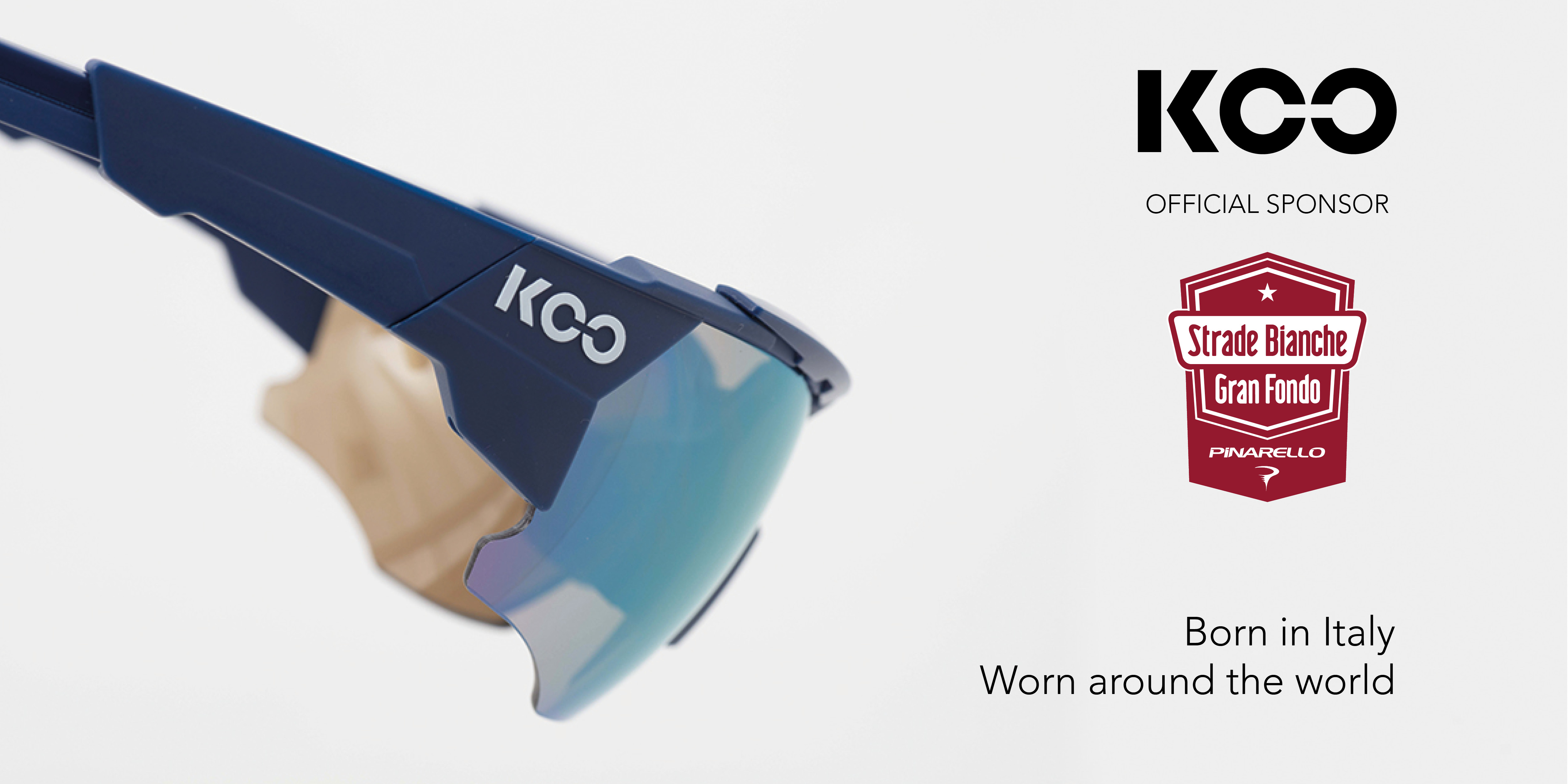 KOO – Official Partner of Strade Bianche and Its Gran Fondo