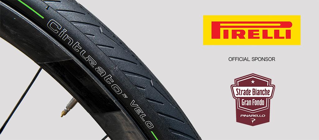 Pirelli corre insieme alla Gran Fondo Strade Bianche