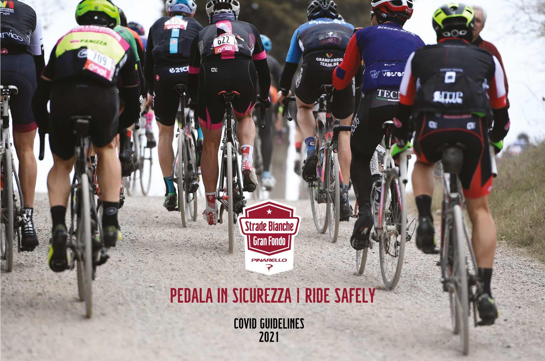 Ride safely at Gran Fondo Strade Bianche
